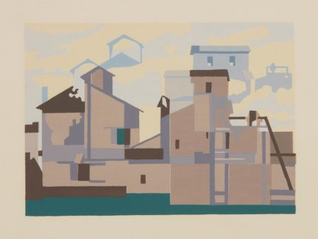 Charles Sheeler-Architectural Cadences-1954