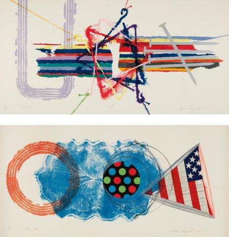 James Rosenquist-Elbow Lake; And Violent Turn-1977