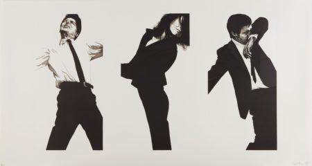 Robert Longo-Jules, Gretchen, Mark (State Ii)-1983