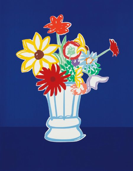 Tom Wesselmann-Country Bouquet With Blue-1991