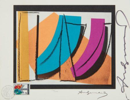 Andy Warhol-U. N. Stamp-1979