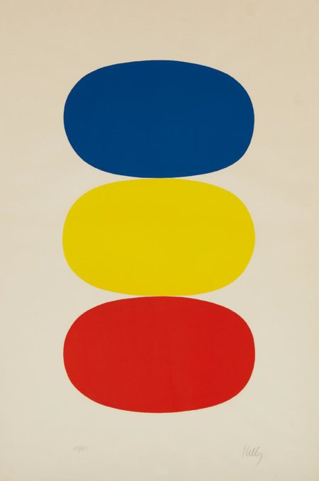 Blue And Yellow And Red-Orange-1965