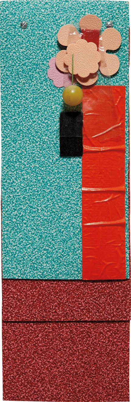 Jessica Stockholder-A Literary Leaning-1997