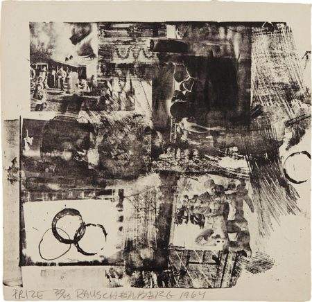 Robert Rauschenberg-Prize, From XXXIV Drawings For Dante'S Inferno-1964