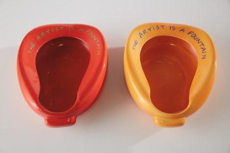 John Baldessari-Repository (Orange/Blue); And Repository (Red/Green)-2002