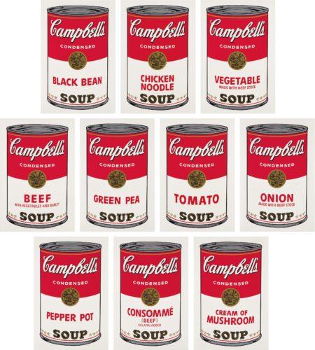 Andy Warhol-Campbells Soup I-1968