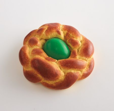 Jeff Koons-Bread With Egg (Green)-1995