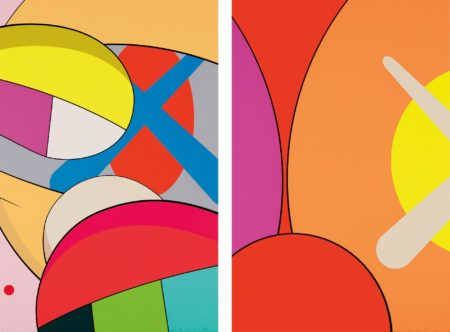 KAWS-Untitled; And Untitled, From No Reply-2015