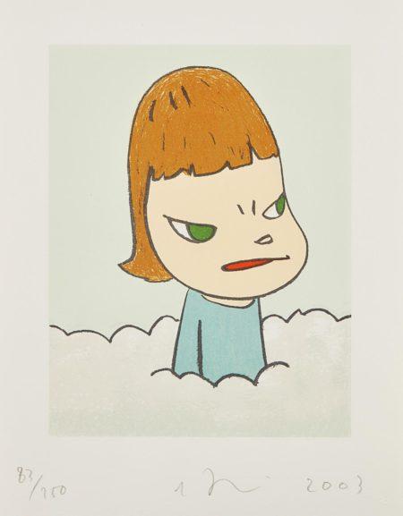 Yoshitomo Nara-In The Cloud-2003