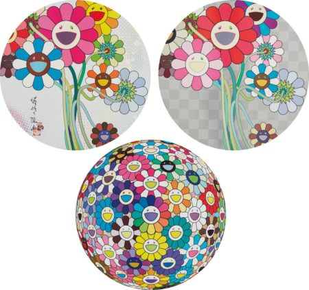 Takashi Murakami-Even The Digital Realm Has Flowers To Offer!; Warhol/Silver; And Thoughs On Matisse-2015
