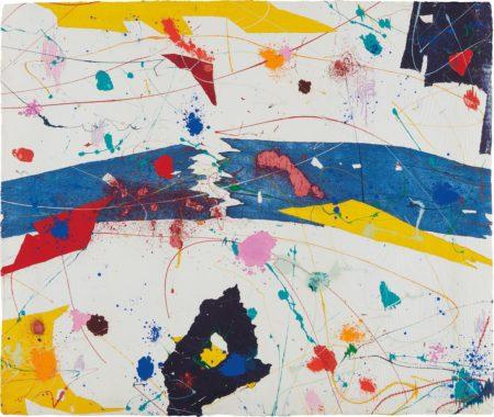 Sam Francis-Untitled (Sfm 83-474)-1983