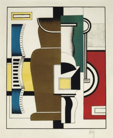 Fernand Leger-Le Vase-1927