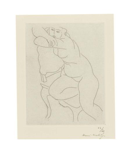 Henri Matisse-Nu Au Fauteuil-1935