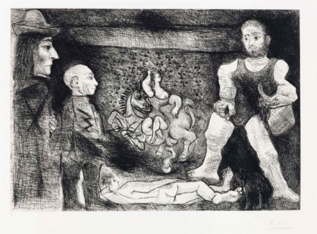 Picasso, Son Oeuvre, Et Son Public, From La Serie 347-1968