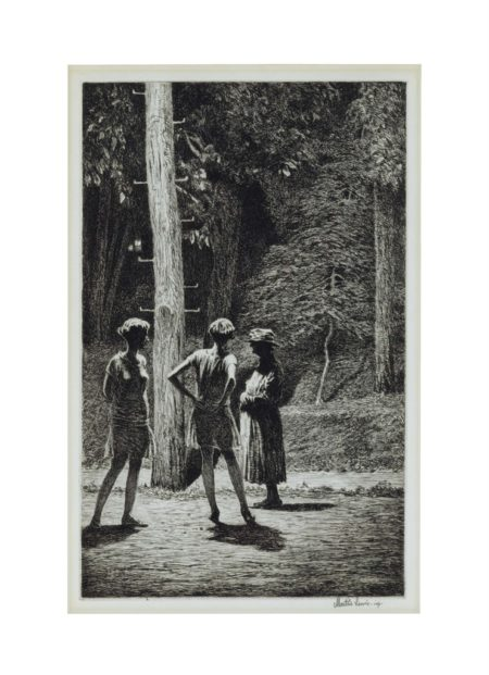 Martin Lewis-Under The Street Lamp-1928