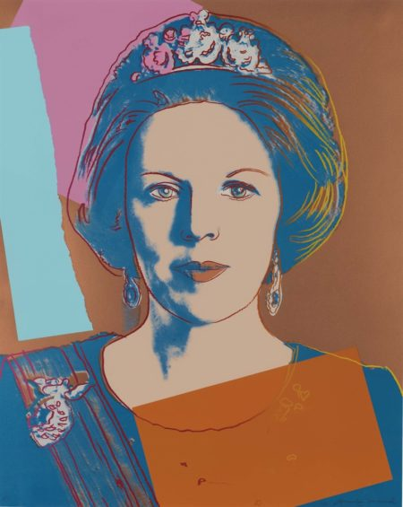Andy Warhol-Queen Beatrix Of The Netherlands, From Reigning Queens-1985