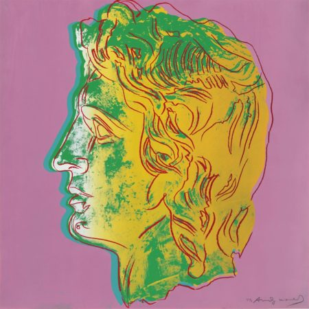 Andy Warhol-Alexander The Great: One Plate-1982