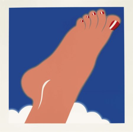 Tom Wesselmann-Seascape (Foot), From Edition 68-1968