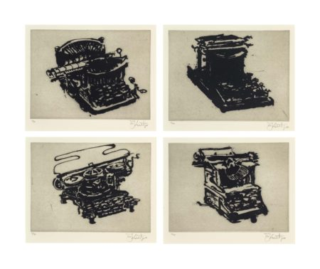 William Kentridge-Typewriter I-VIII-2003