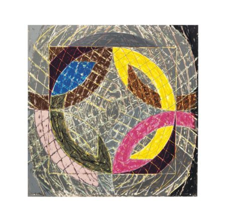 Frank Stella-Polar Co-Ordinates VIII, From Polar Co-Ordinates For Ronnie Peterson-1980