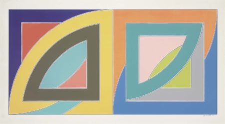 Frank Stella-Port Aux Basques, From Newfoundland Series-1971