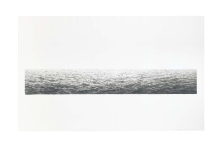 Vija Celmins-Untitled (Ocean)-1972