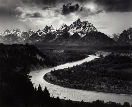 Ansel Adams-The Grand Tetons And The Snake River, Grand Teton National Park, Wyoming-1942