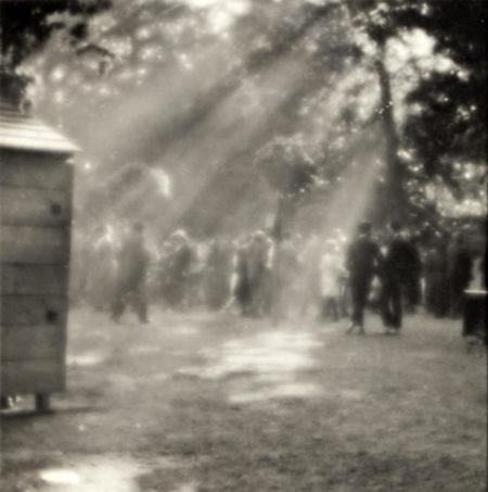 Josef Sudek-Street Scene, Prague-1926