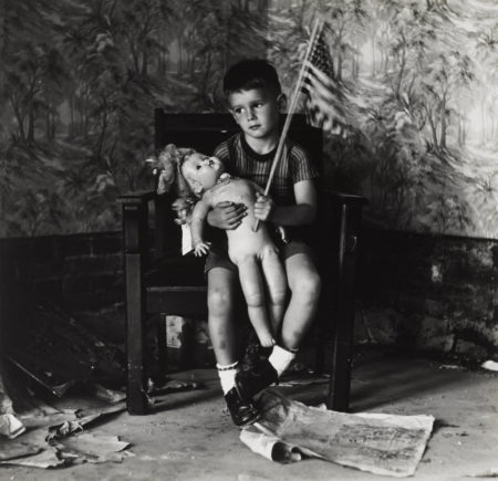 Ralph Eugene Meatyard-Untitled (Boy With Flag), From Ralph Meatyard: Portfolio Three-1971