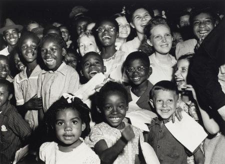 Arthur Leipzig-Unity Rally, World War II, Manhattan-1945