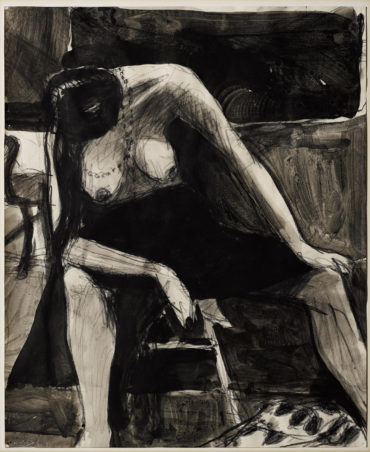 Richard Diebenkorn-Seated Figure-1964