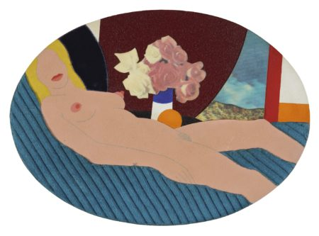 Tom Wesselmann-Nude Collage-1970