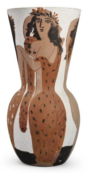 Pablo Picasso-Grand Vase Aux Femmes Voilees (A.R. 116)-1950