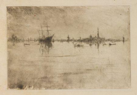 James Mcneill Whistler - Nocturne (Kennedy 184; Glasgow 222)-1881