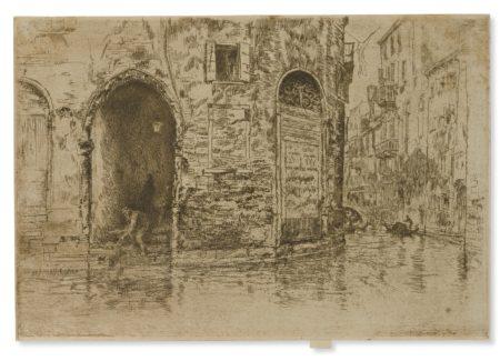 James Mcneill Whistler - Two Doorways (K. 193; G. 221)-1880