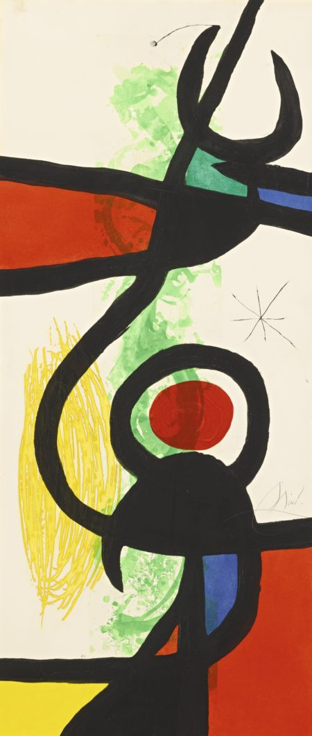 Joan Miro-Les Grandes Manoeuvres (Dupin 575)-1973