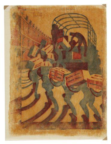 Sybil Andrews-Oranges (C. Sa 3)-1929