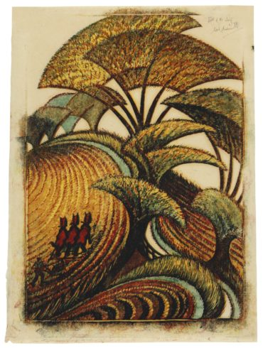 Sybil Andrews-Fall Of The Leaf (C. Sa 30)-1934