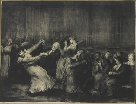 George Wesley Bellows - Dance In A Madhouse (Mason 49)-1917