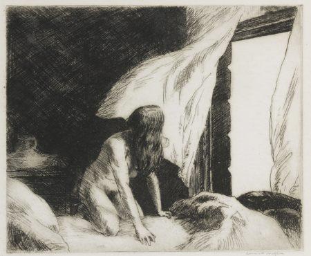 Edward Hopper-The Evening Wind (L. 77; Z. 9)-1921