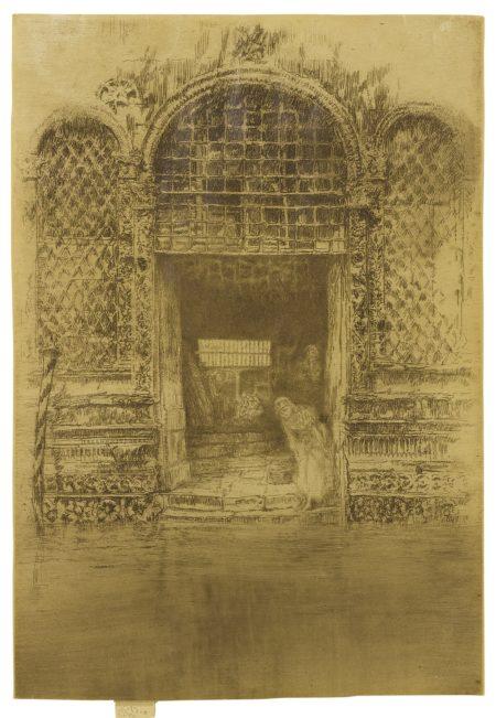 James Mcneill Whistler - The Doorway (Kennedy 188; Glasgow 193)-1880