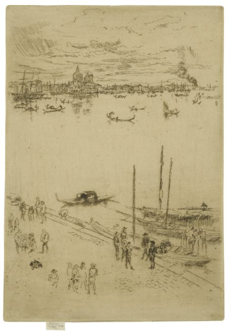 James Mcneill Whistler - Upright Venice (K. 205; G. 232)-1880