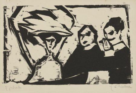 Ernst Ludwig Kirchner-Theaterloge (Dube H148)-1909