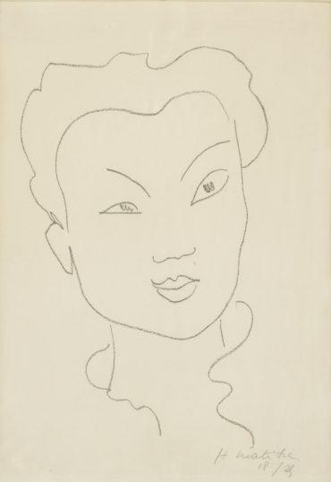 Henri Matisse-Jeune Chinoise (D. 621)-1941