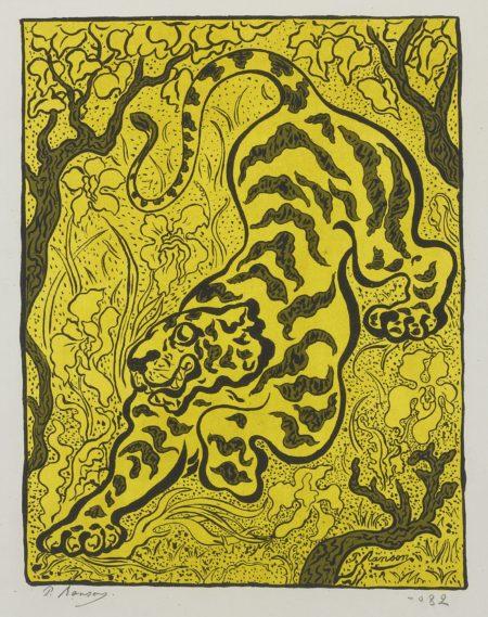 Paul Elie Ranson-Tigre Dans Les Jungles (Stein & Karshan 62)-1893
