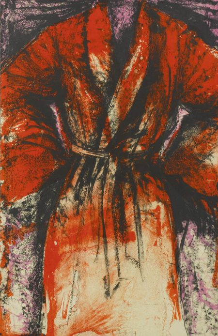 Jim Dine-A Robe In Los Angeles (D. & F. 169)-1984