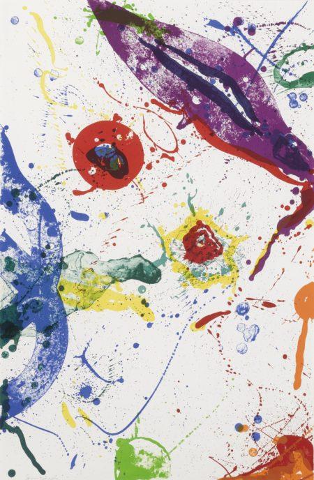 Sam Francis-Untitled (Sf-330) (L. L.279)-1988