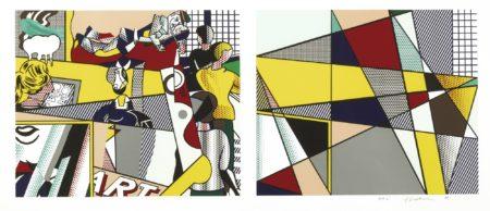 Roy Lichtenstein-Tel Aviv Museum Print (C. 238)-1989