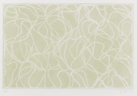 Brice Marden-Red Line Muses (State) (Gemini 63.10)-2003
