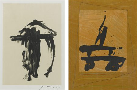 Robert Motherwell-Untitled (W.A.C. 224 And 226)-1978